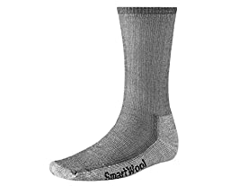 Smartwool Men\'s Hiking Medium Crew Sock (Medium, Gray)