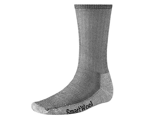 Smartwool Men's Hiking Medium Crew Sock (X-Large, Gray)