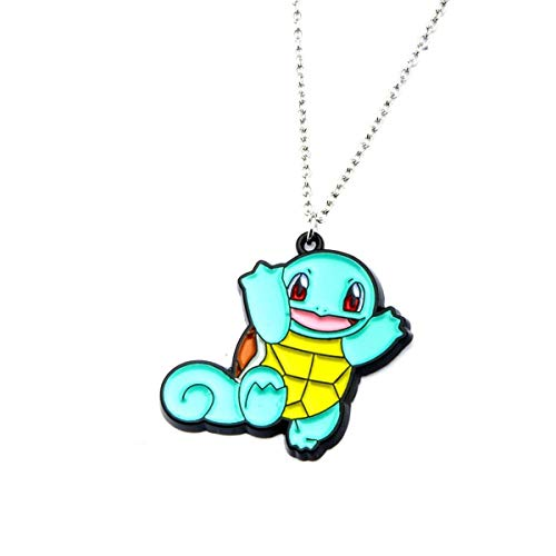 Official Pokemon Squirtle Stainless Steel Enamel Necklace Pendant - Pokemon Go