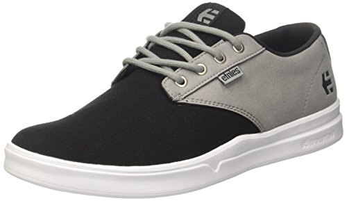Silver Basses 572 black Noir Grey Etnies Sneakers SC Jameson Homme zAqqgaw