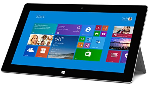 Microsoft Surface Pro 2 (128GB, Haswell i5 Processor, 10.6in Full HD Display, Windows 10 Pro, Dark Titanium) (Renewed)