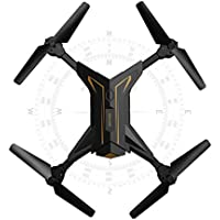 Foldable RC Drone, Boyiya 2.4Ghz 4CH 6Axis Gyro RC Quadcopter W/ Camera KY601/ Headless Mode