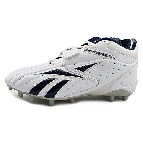 Blitz Pro Cleats Full Round Strap Reebok White MP Synthetic navy Toe qE1ndn86