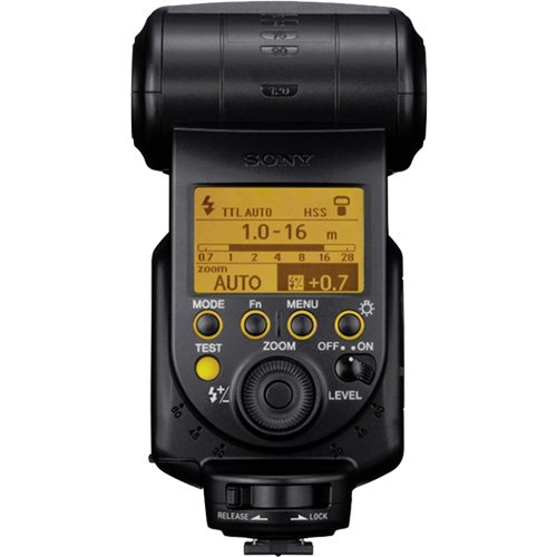 Sony Alpha HVL-F60M Flash with Video Light with Batteries & Charger + Diffuser + Bounce Reflector + Monopod + Accessory Kit by Sony (Image #3)