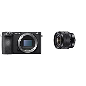 Sony Alpha a6500 Digital Camera with 2.95-Inch LCD (Body Only) by Sony Mobile Communications, (USA) Inc
