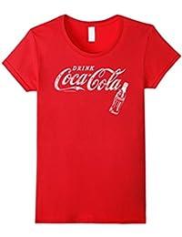 Vintage White Drink Logo Bottle Graphic T-Shirt