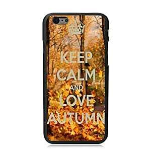 PG Elonbo? Keep Calm and Love Autumn Plastic Hard Back Cover for iPhone 6 Plus