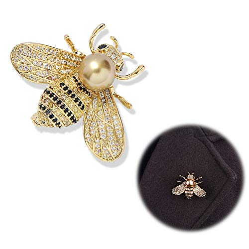 14026661c HDMI SM Bee Brooches for Women