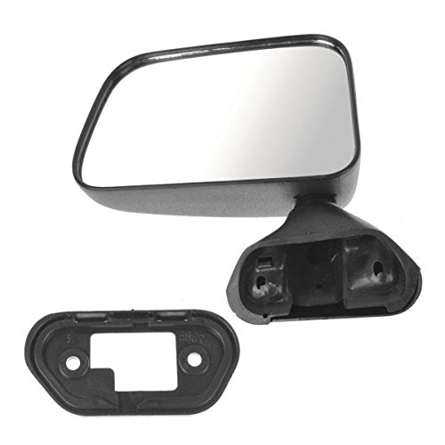 Manual Door Mounted Mirror Left Driver Side Left LH for Toyota Pickup 4Runner (Drivers Door Mounted Manual Mirror)