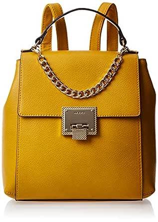 Aldo Fashion Backpack for Women, Yellow - VIGONZa67