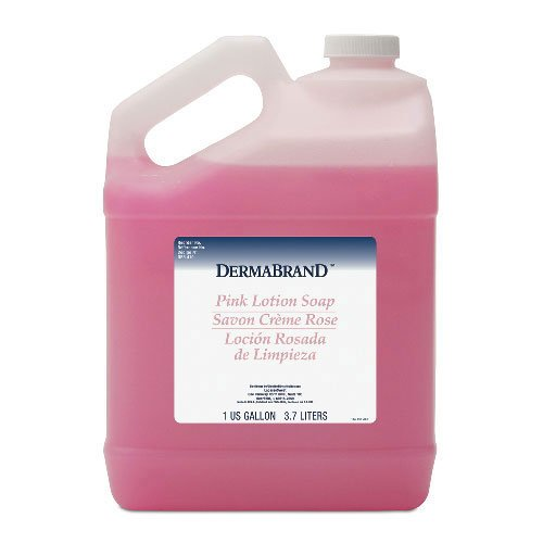 Boardwalk Mild Cleansing Lotion Soap Pleasant Scent, Pink Gallon Bottle, (Dermabrand Pink Lotion)