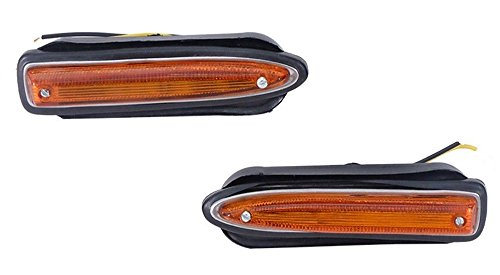 FRONT-MARKER-LIGHTS-Fits-FOR-DATSUN-520-521-PICKUP-TRUCK-BLUEBIRD-510 SSS