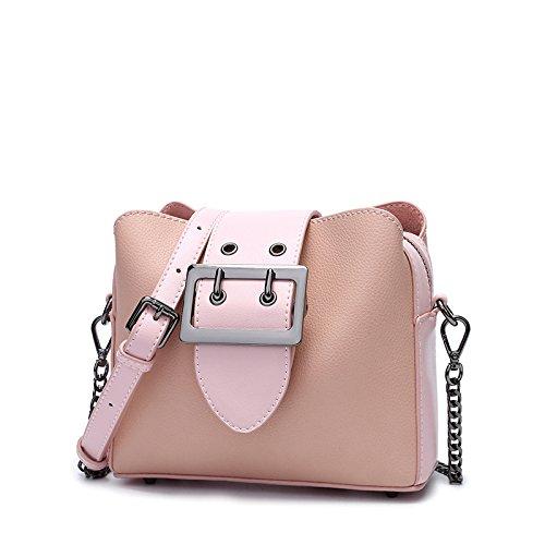 Shoulder Bag Bag 17Cm Single amp;QIUMEI Square 19 Bag Shoulder Single Shoulder Pink 7 Small Female OME wqBxEIq