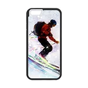 Sports skiing 2 iPhone 6s 4.7 Inch Cell Phone Case Black Customized Gift pxr006_5253329