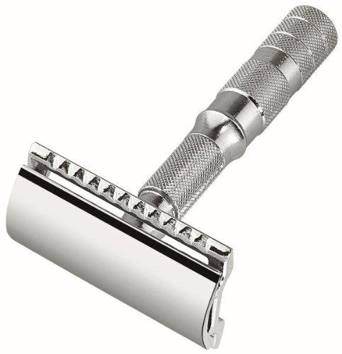 Merkur-Razor Travel razor dismountable, chrome-plated,in ...