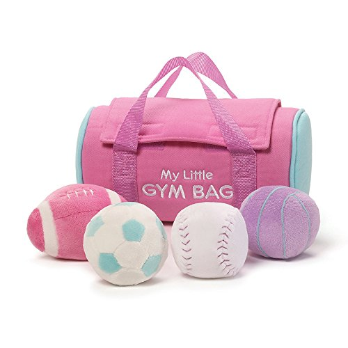 Baby GUND My Little Gym Bag Stuffed Plush Playset ()