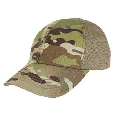 Condor Tactical Mesh Team Cap Hat Multicam No Front Patch NE