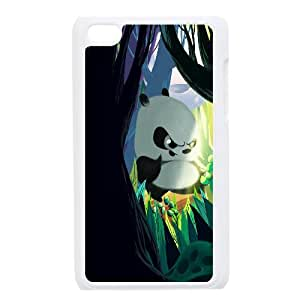 Best Quality [LILYALEX PHONE CASE] Cute Pandas FOR IPod Touch 4th CASE-7