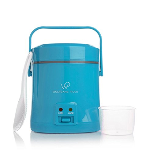 1.5 cup Portable Cooker Turquoise Rice