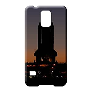 samsung galaxy s5 cell phone carrying shells PC Heavy-duty For phone Fashion Design nasa space shuttle preparing for launch