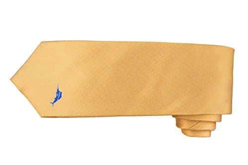 (Tommy Bahama Signature Marlin Tie (Yellow) )