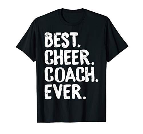 Best Cheer Coach Ever Cheerleading Squad Teacher Fun T-shirt