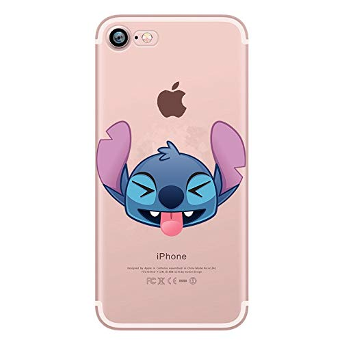 Amazon.com: Fitted Cases - Anime Stitch Phone Case for ...