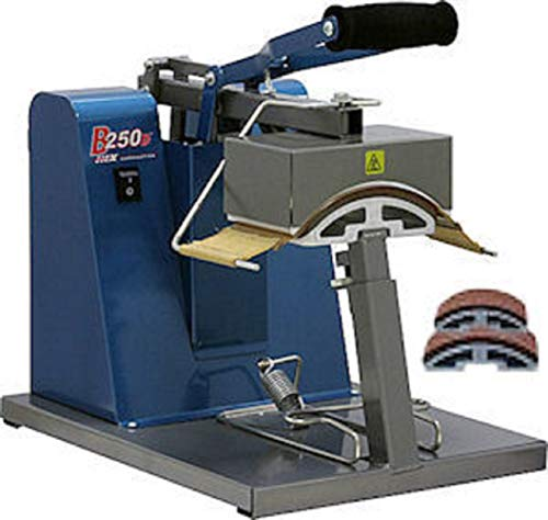 (HIX B-250 Digital Manual Cap Press with Golf, Ball and Youth Cap Platen)