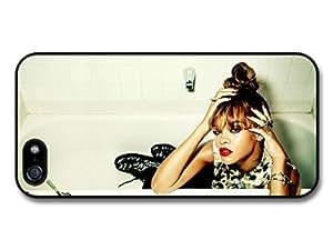 Rihanna Bath Popstar Singer case for iPhone 5 5S A675