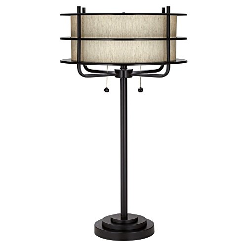 Kathy Ireland by Pacific Coast Ovation Table Lamp in Bronze ()