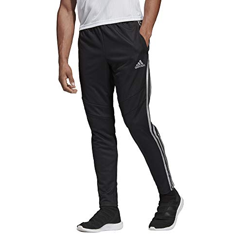 Basketball Signature Silver (adidas Men's Tiro19 Training Pants, Black/Reflective Silver, Medium)
