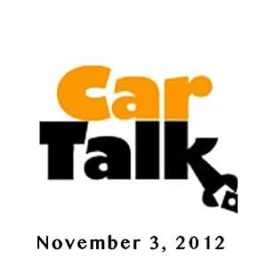 Car Talk, Grandma Is Peeling Rubber, November 3, 2012 Radio/TV Program