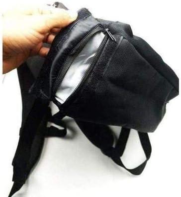 SMOKEYZ Smell-Proof Stash Backpack Gray with Hidden Under Pocket Grey