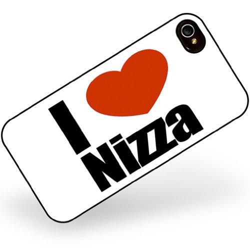 Rubber Case for iphone 4 4s I Love Nizza region: Alpes-Maritimes, Provence-Alpe