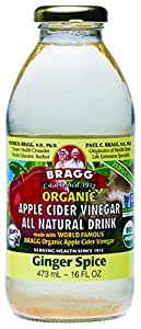 BRAGG Apple Cider Vinegar Ginger Spice Drink, 473ml