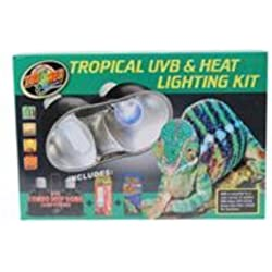 Zoo Med Tropical UVB and Heat Lighting Kit