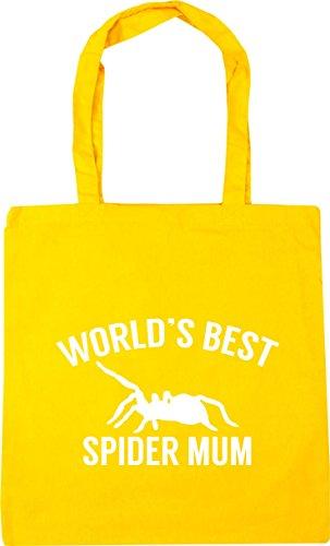 Gym 42cm Bag World's litres Shopping x38cm best Tote spider 10 HippoWarehouse Yellow mum Beach YqZaz