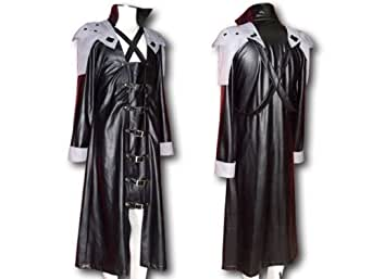 Japanese Anime Final Fantasy VII Cosplay Costume - Sephiroth Leatherette Outfit