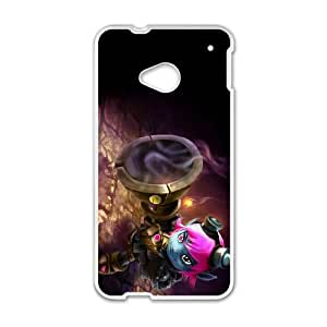 HTC One M7 Cell Phone Case White League of Legends Riot Girl Tristana Wrkik