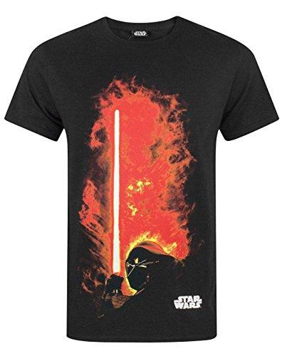 75ab25bb7f98 Star Wars Darth Vader Lightsaber Mens TShirt
