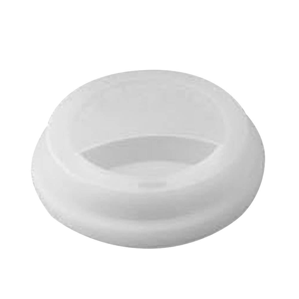 Godagoda Food grade dustproof silicone cover circular seal 9cm single layer ceramic glass v-shaped glass cover;1pcs