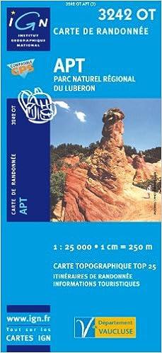 Télécharger en ligne 3242OT APT/PNR DU LUBERON pdf