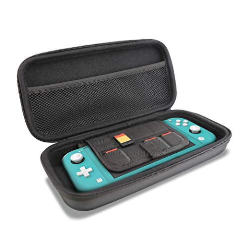 Nyko Travel Kit – Protective Case Accessory Pack with 9H Tempered Glass Screen Protector and Silicone Cover for Nintendo Switch Lite