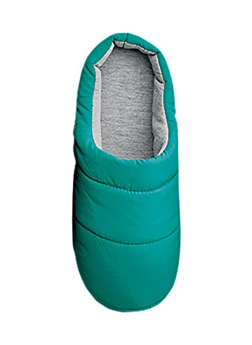 Carol Wright Geschenken Puffer Slippers Groenblauw