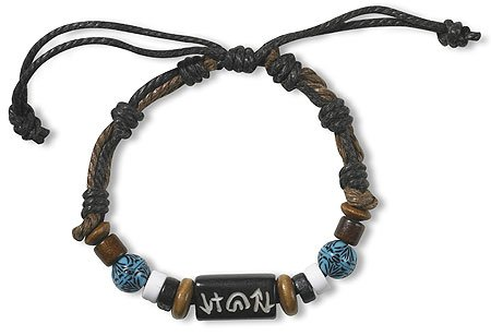 (AT001 1pk Sky Bead Bracelet)