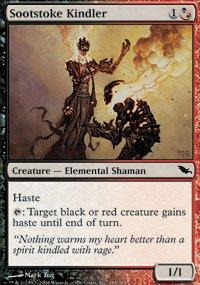 Magic: the Gathering - Sootstoke Kindler - Shadowmoor