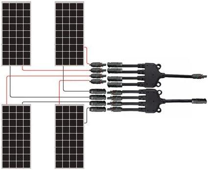 Amazon.com: Renogy CNCT-MC4Y - Conectores solares MC4 ...