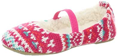 Roxy TW Hot Cocoa Slip-On (Toddler),Pink Stripe/Cabernet,5 M US Toddler