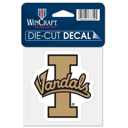 University Idaho (NCAA University of Idaho Perfect Cut Color Decal, 4