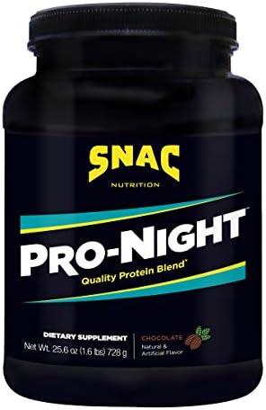 SNAC Pro-Night Quality Protein Blend, Vanilla, 1.6 Pounds